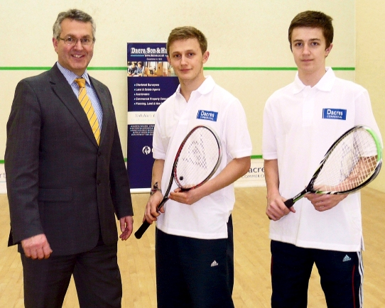 Dacres sponsor Ilkley Lawn Tennis and Squash Club small