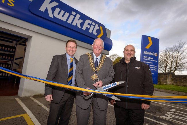 Kwik Fit Halifax Ribbon Cutting
