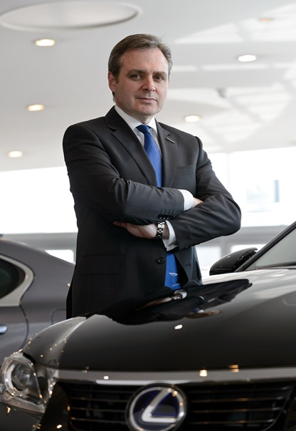 Mark Robinson, MD Vantage Motor Group, Birmingham. 3rd June 2013.