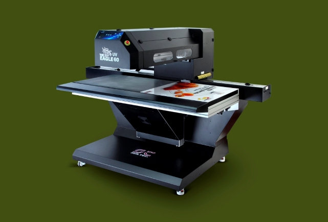 The Eagle UV LED 60 printer