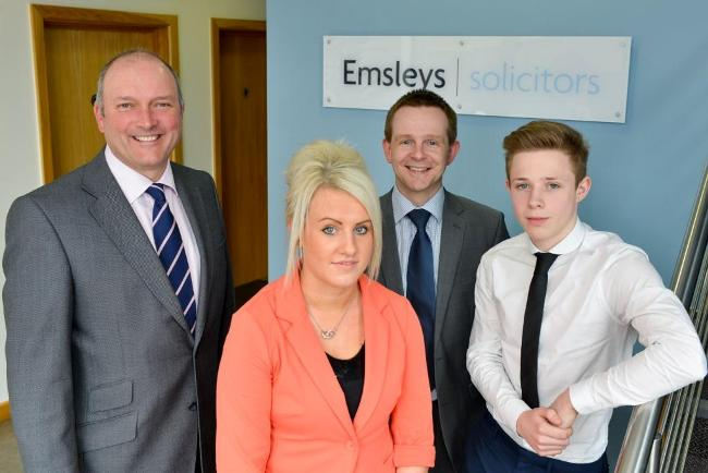 Emsleys - Andrew, Isobell, Alistair and Calvin