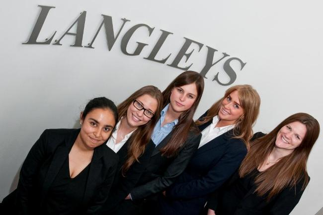 Langleys' trainees