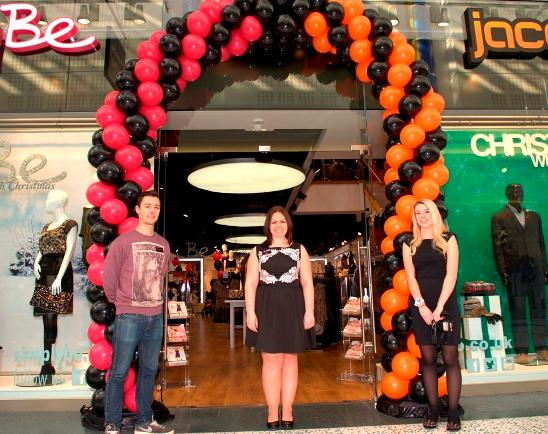 Store Front with store manager Leanne Horton