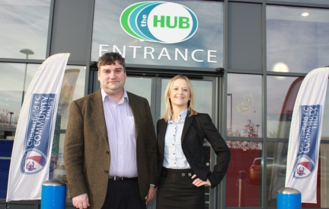 First tenants move into Chesterfield FC Community Hub