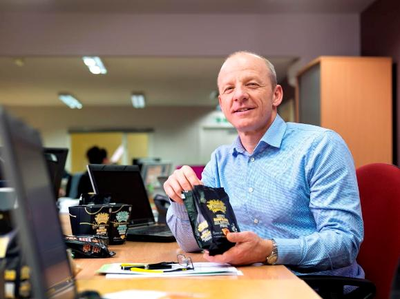 Rob Whitehead, MD of The Serious Sweet Company 2