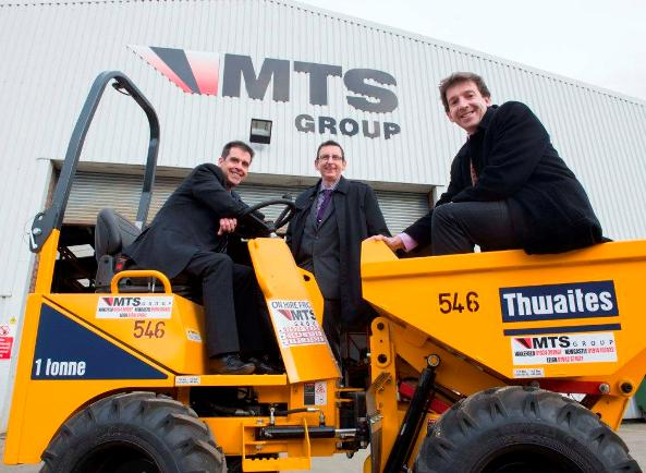 MTS - Yorkshire Bank funds new dump trucks