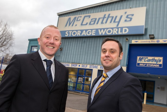 Mike McCarthy and Nick Wright from McCarthy's Removals and Storage