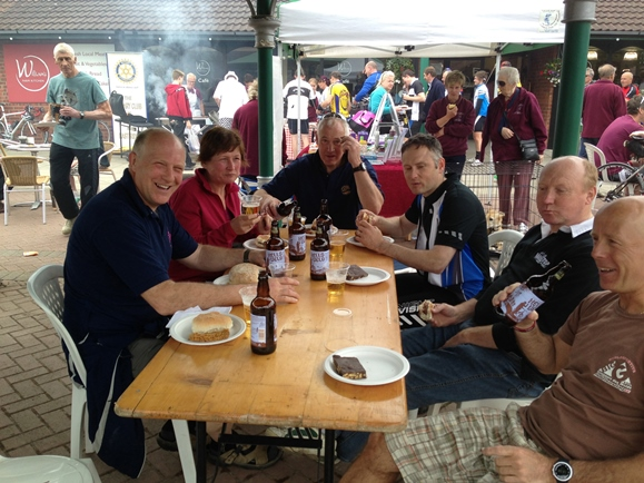 The Wold Top Brewery Team at the WFK Sportive 2013