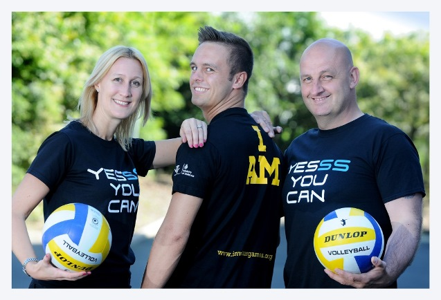 Yesss you can! Vicky O'Halloran Luke Denby and Shaun Myers of YESSS Electrical (2)