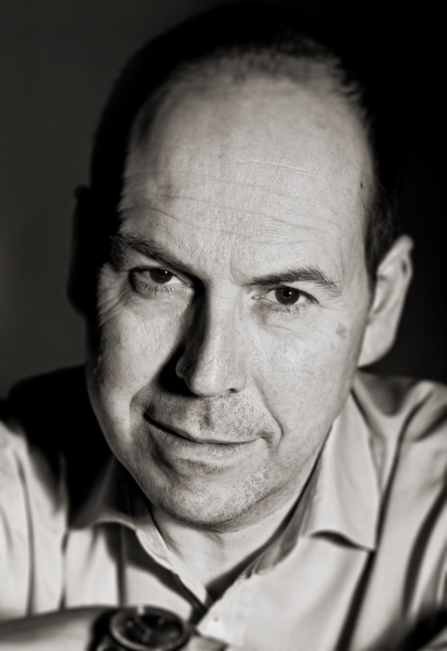 Rory Cellan-Jones b&w