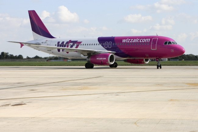 Wizz Air at Robin Hood Airport Doncaster Sheffield