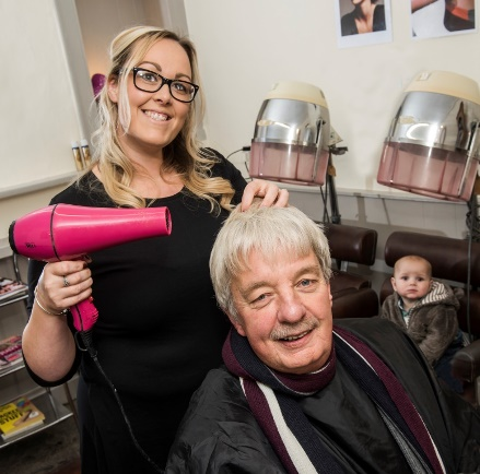 first grant awarded - new hairdressing business in Hawes