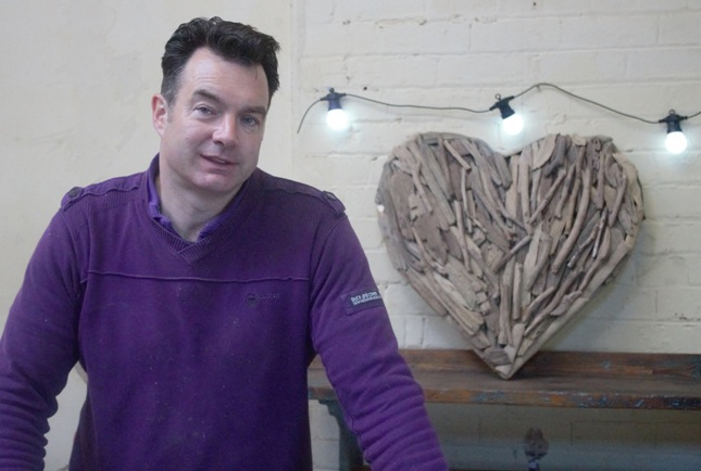 Clive Leacock of Love Wood Furniture