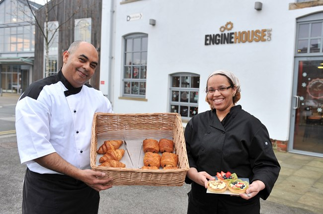 Engine House - Marcos Silva and Evelyn Ferguson  Credit Roger Moody