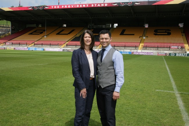 Nikki Guest and Robbie Hunter-Paul