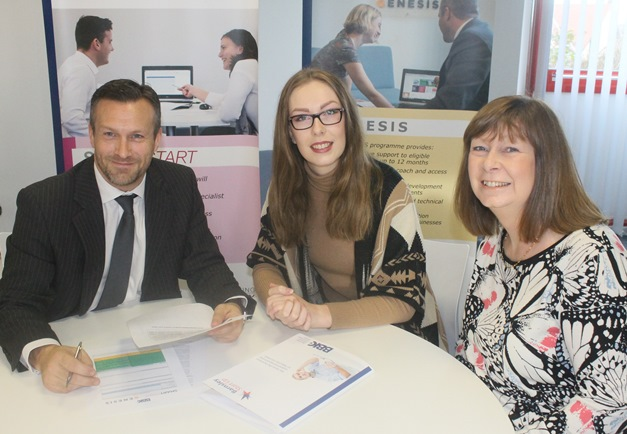 BBIC Open Day  - James Herbert with Victoria Price and Jacqui Price