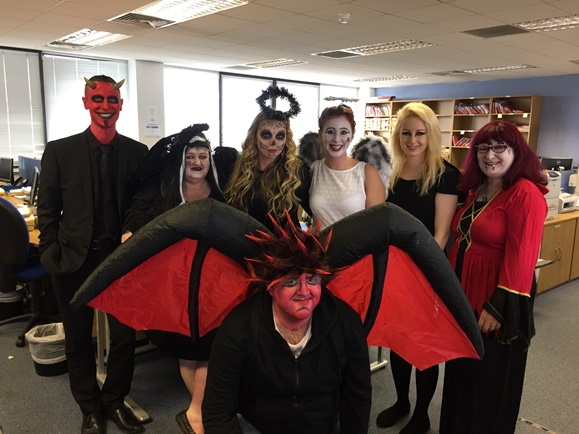 Beaumont Legal staff dress up for Charity on Halloween