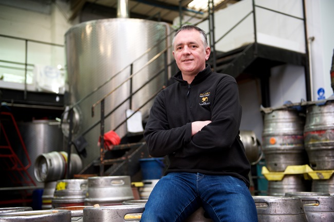 Dave Hughes owner of Acorn Brewery