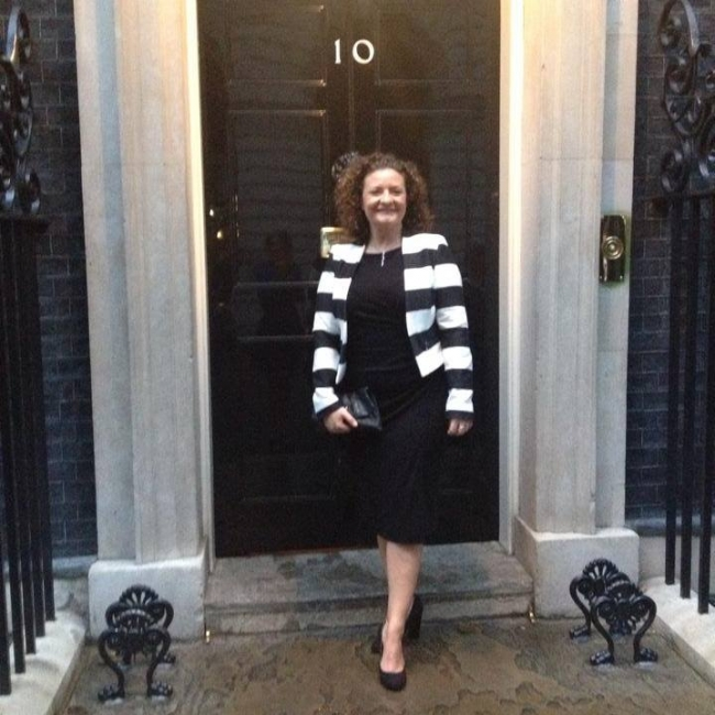 Marie Christopher Downing Street