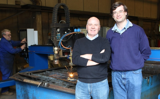 Bill Campbell and Nick Midgley of Midcam (5)
