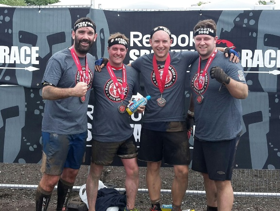 TRFC Team at Spartan Sprint Finish Line