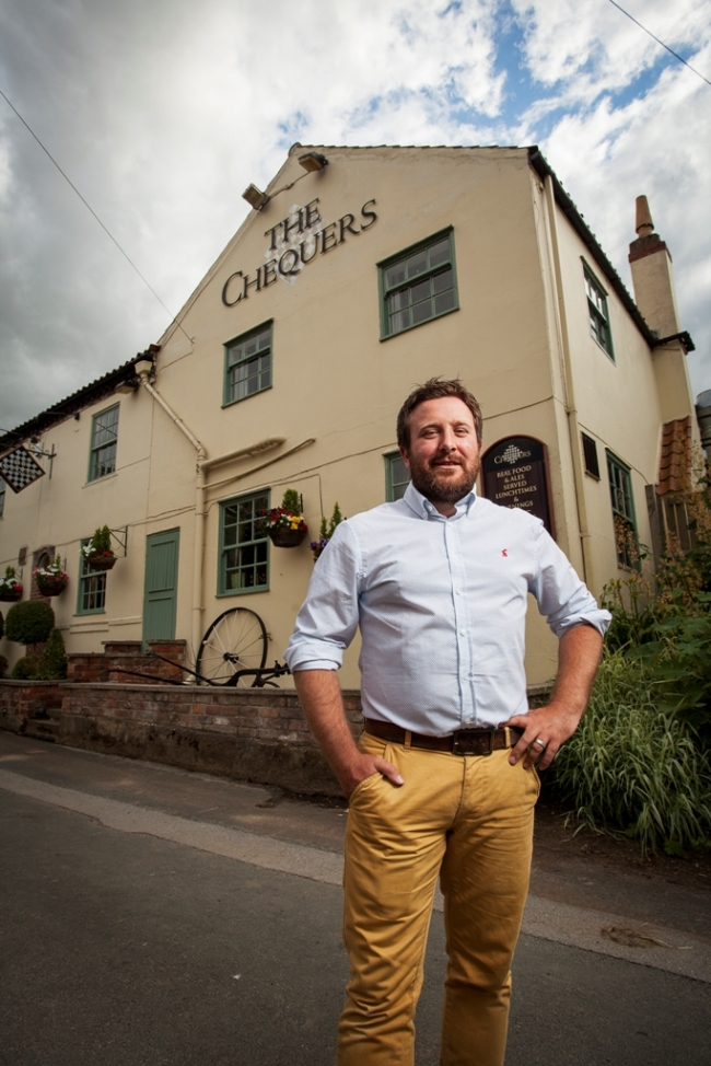 Antony Pratt - The Chequers Inn owner
