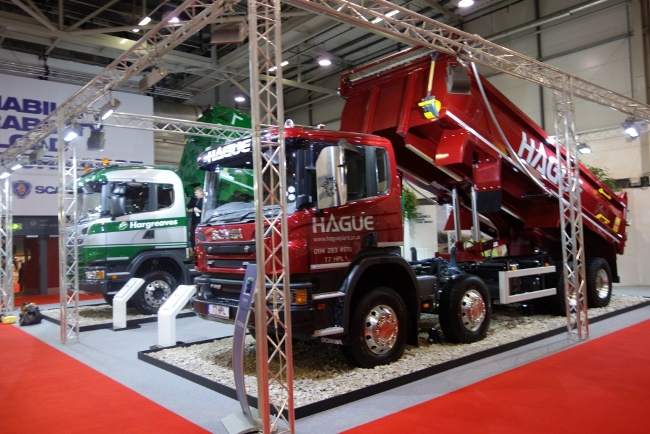 Joe Manby Limited has been reappointed to work with Road Transport Media on its Tip-ex and Tank-ex shows