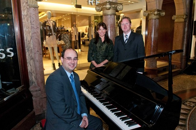 Opera North education event at Victoria Quarter Leeds organised by Hammerson