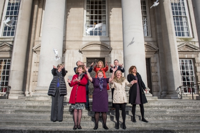 Family lawyers release doves in campaign to keep divorces out of court