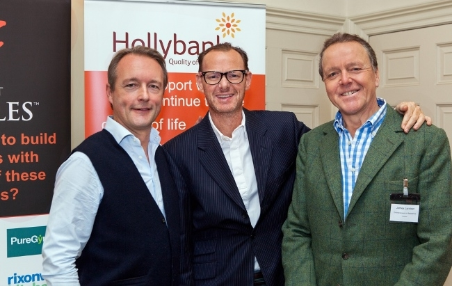 Trio of entrepreneurs share insights and boost funds for local charities