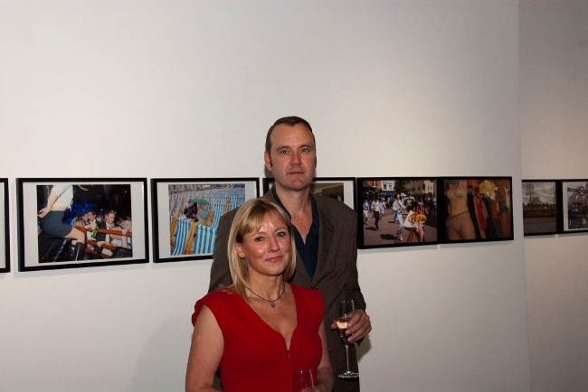 Peter Dench and creative director Sharon Price (3)