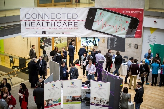 Connected Healthcare launch at DMC Jan 2016