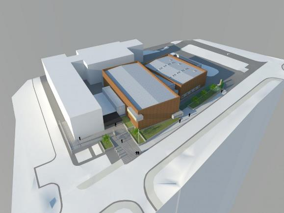 Architects Impression for Barnsley Custody Suite - 2 June 2016