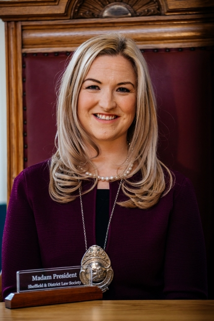 Natalie Cosgrove appointed president of Sheffield Law Society 1