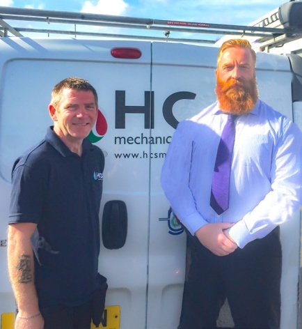 Four appointments spark further growth for HCS Mechanical Services.