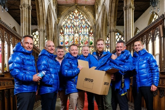 Holy Trinity Church, Kingston Upon Hull, East Yorkshire, United Kingdom, 12 September, 2016. Pictured: Business leaders aim to conquer Kilimanjaro for Holy Trinity