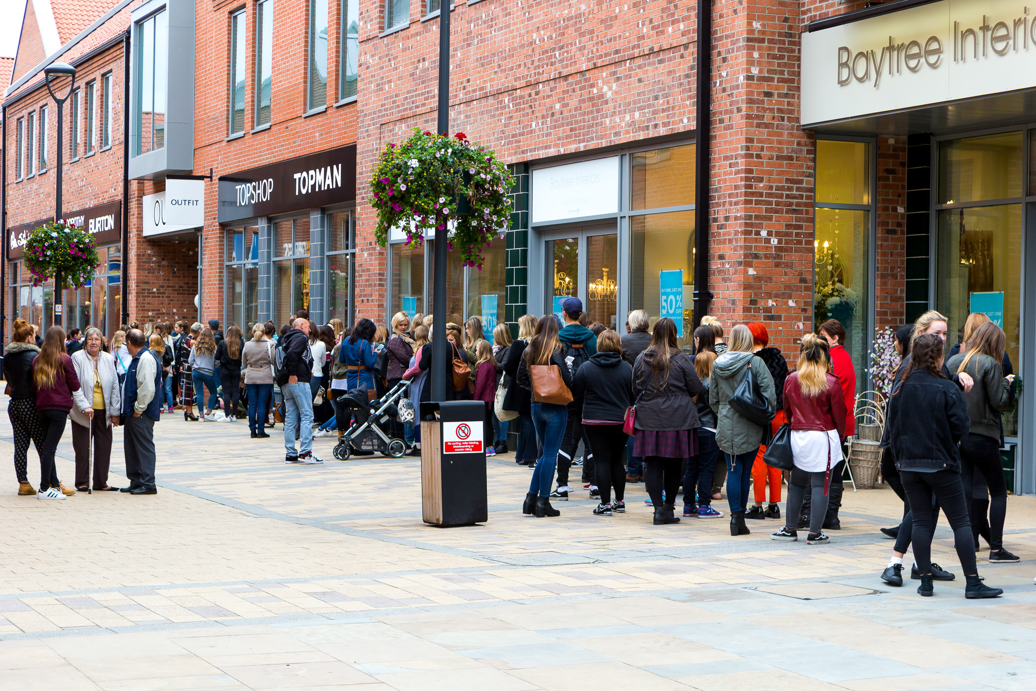 Shoppers Queue To Experience New Outfit Store At Flemingate - Yorkshire Business Daily