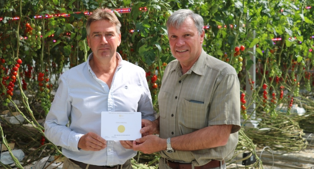 Selby Technology Centre Helps To Secure Rhs Chelsea Gold