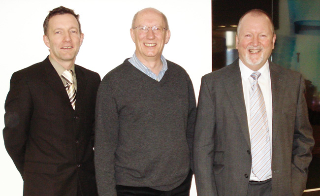 Andrew Pearson, David Wakefield and Edward Jennings of Manrochem