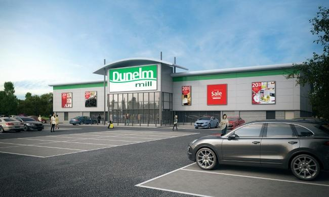 Wheatley Hall Road Dunelm_Store_CGI image