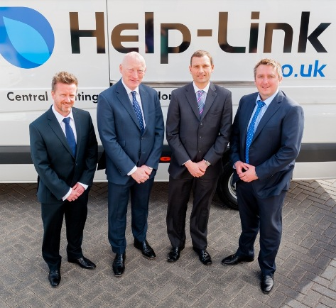 NorthEdge Help-Link L-R Alan Dickinson, Andy Ball, James Hall, Mel Butler