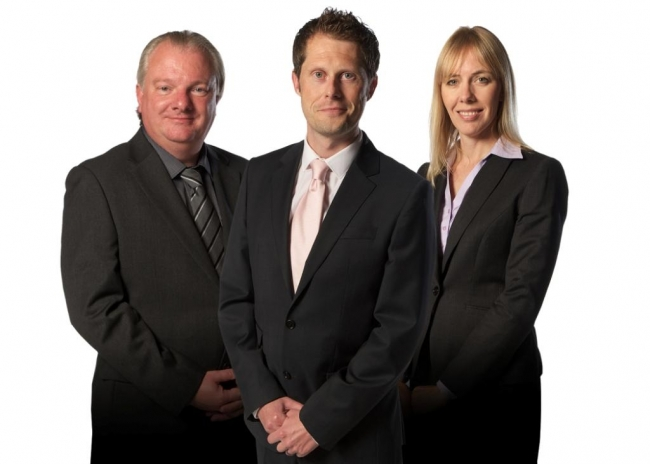Grahame Lovett, Gavin McBride, Julie Smith, of Smith McBride