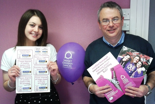Mark and Laura - Target Ovarian Cancer