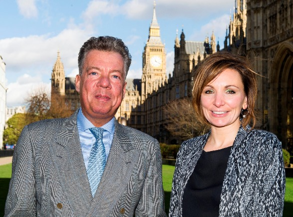 Richard and Rachel at Westminster