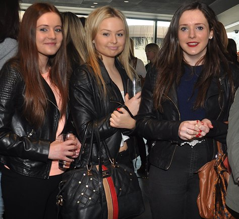 Rodillian Acadamy Students at the WISE event Leeds