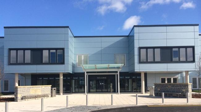 NGB Bridgwater Community Hospital view from the front