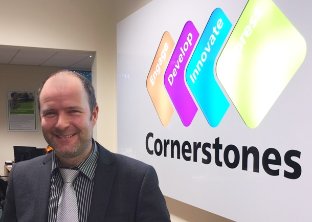 Simon Hickton - managing director of Cornerstones
