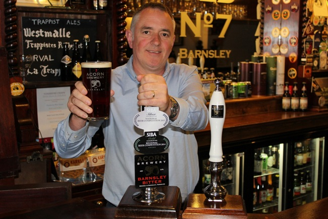 Dave Hughes of Acorn Brewery