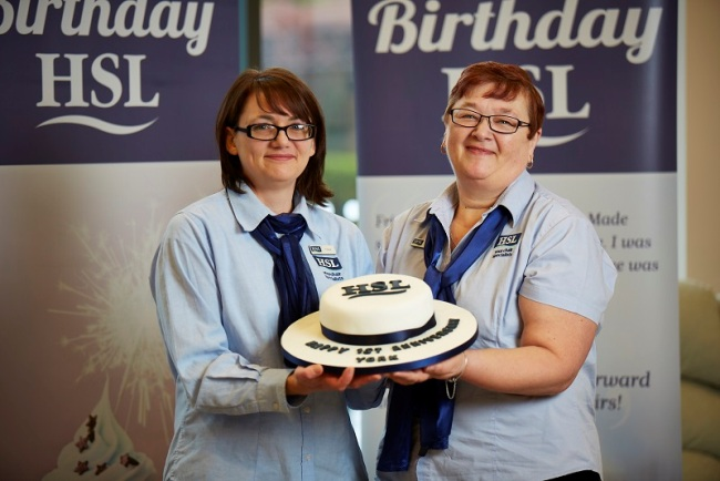 HSL York staff members Claire Marshall and Sue Cunnington 1