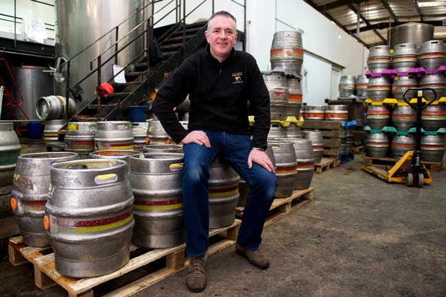 Owner of Acorn Brewery Dave Hughes
